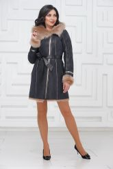 Красивое зимнее пальто из испанского тоскана. Фото 1.