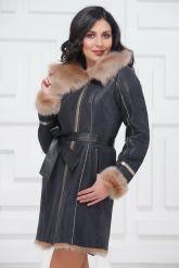 Красивое зимнее пальто из испанского тоскана. Фото 2.