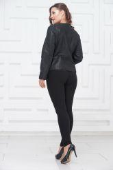 Замшевая куртка больших размеров айс покрытие. Фото 4.