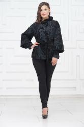 Женская замшевая куртка. Фото 1.