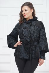 Женский замшевый пиджак. Фото 2.