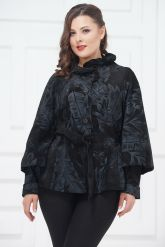 Женский замшевый пиджак. Фото 3.