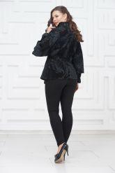 Женский замшевый пиджак. Фото 4.