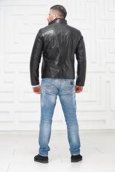 СКИДКА! Мужская кожаная куртка на меху 2021. Фото 4.