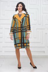 Буклированное пальто в стиле Кензо. Фото 1.