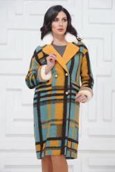 Буклированное пальто в стиле Кензо. Фото 2.