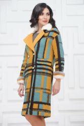 Буклированное пальто в стиле Кензо. Фото 3.