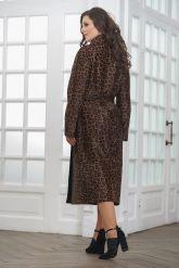 Леопардовое пальто из нерпы. Фото 2.