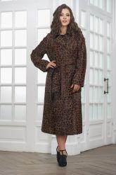 Леопардовое пальто из нерпы. Фото 5.