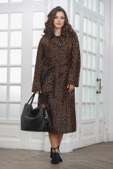 Леопардовое пальто из нерпы. Фото 6.