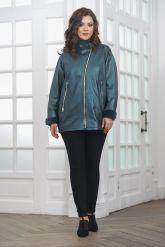 Женская кожаная куртка с мехом. Фото 1.