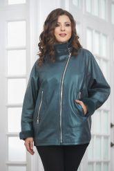 Женская кожаная куртка с мехом. Фото 4.