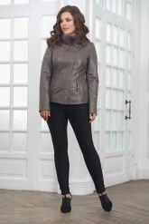 Классическая кожаная куртка для женщин. Фото 3.