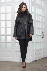 Комбинированная кожаная куртка для милых дам. Фото 3.