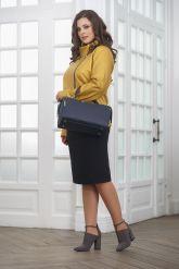 Весенняя кожаная куртка косуха для женщин. Фото 1.