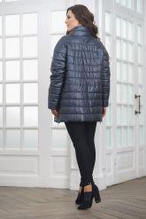 Теплая кожаная куртка. Фото 2.