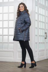 Теплая кожаная куртка. Фото 3.