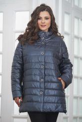 Теплая кожаная куртка. Фото 4.