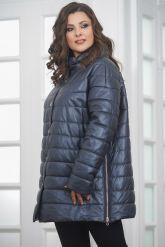 Теплая кожаная куртка. Фото 5.