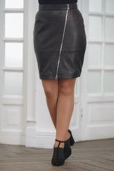 Кожаная юбка. Фото 1.