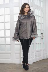 Просторная и комфортная куртка из натуральной кожи. Фото 3.