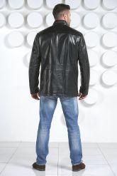 Демисезонная кожаная куртка. Фото 2.