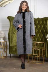 Женское пальто больших размеров. Фото 4.