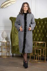 Женское пальто больших размеров. Фото 5.