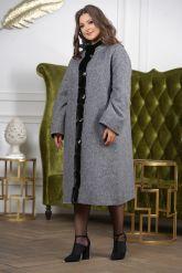 Женское пальто больших размеров. Фото 6.