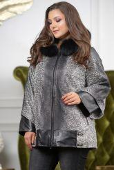 Женская замшевая куртка с капюшоном. Фото 3.