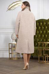 Классическое двубортное пальто. Фото 1.