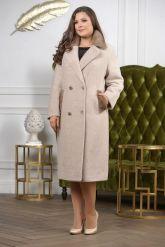 Классическое двубортное пальто. Фото 3.