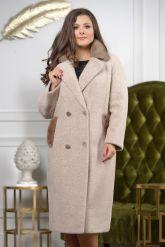 Классическое двубортное пальто. Фото 5.