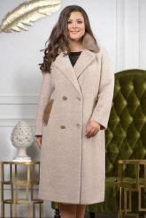 Классическое двубортное пальто. Фото 6.