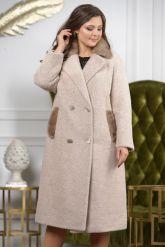 Классическое двубортное пальто. Фото 7.