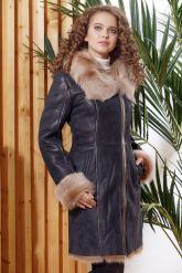 Красивое зимнее пальто из испанского тоскана. Фото 3.