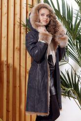 Красивое зимнее пальто из испанского тоскана. Фото 4.