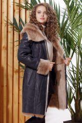 Красивое зимнее пальто из испанского тоскана. Фото 6.