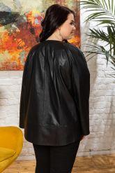 Женская кожаная куртка Шанель. Фото 1.