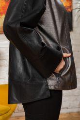Женская кожаная куртка Шанель. Фото 2.