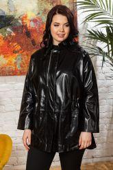 Комбинированная кожаная куртка для милых дам. Фото 6.