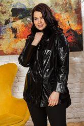 Комбинированная кожаная куртка для милых дам. Фото 7.