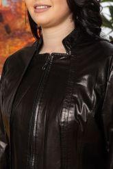 Кожаная куртка- пиджак. Фото 2.