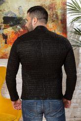 Мужская кожаная куртка со стрейчем. Фото 1.