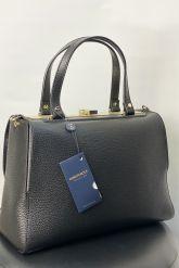 Классическая сумка из кожи GIRONACCI. Фото 1.