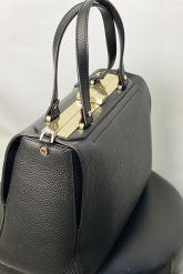 Классическая сумка из кожи GIRONACCI. Фото 2.