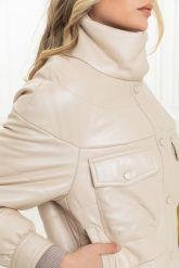 Базовая модель кожаной куртки на осень 2020 и весну 2021. Фото 3.