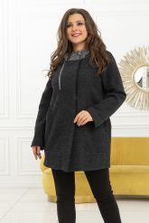 Женское пальто из кашемира. Фото 1.