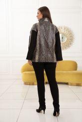 Роскошная кожаная куртка из новой коллекции. Фото 2.