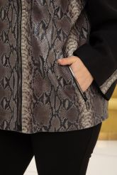 Роскошная кожаная куртка из новой коллекции. Фото 3.